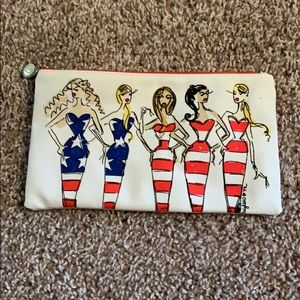 Vintage Brighton Show Your Stripes travel pouch